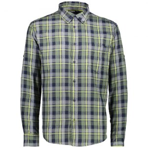 CAMICIA UOMO CMP MAN SHIRT BRUSHED FLANNEL 38T2507 96BL