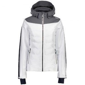 GIACCA SCI DONNA CMP WOMAN JACKET ZIP HOOD POLYESTER SHINE 39W1636 A001