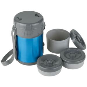 Thermos acciaio per alimenti ferrino pietanziera con for Contenitori termici per alimenti