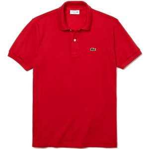 POLO LACOSTE CLASSIC FIT L1212 240 ROUGE