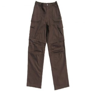 PANTALONI TREKKING JUNIOR ACCORCIABILI