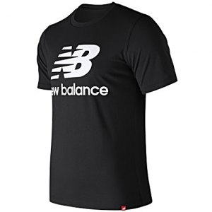 MAGLIETTA T-SHIRT NEW BALANCE ESSENTIALS STACKED LOGO MT91546BK