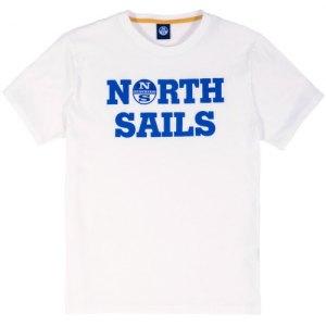 NORTH SAILS PRINTED LOGO T-SHIRT 691686 0101- Maglietta T-shirt