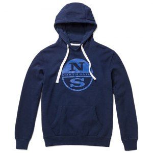 FELPA CAPPUCCIO NORTH SAILS HOODED SWEAT 692015 0802