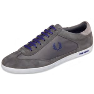 SCARPE SNEAKERS FRED PERRY BROOKS NYLON SUEDE B2193