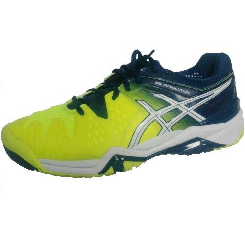 ASICS Gel Resolution 6 Uomo Scarpe Da Tennis Scarpe Sportive Sneaker giallo oversize