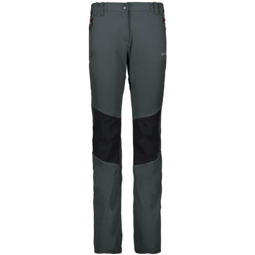 sito affidabile 80cb9 2ea9e Pantaloni Stretch Donna CMP WOMAN LONG PANT 38T6806 U423 montagna trekking