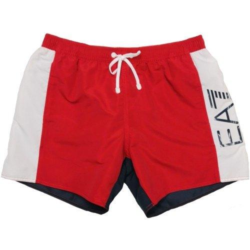 a basso prezzo dcb95 e66f1 Pantaloncini da bagno EA7 EMPORIO ARMANI SEA WORLD BW CBLOCK 902023 8P734  13974 costume uomo boxer