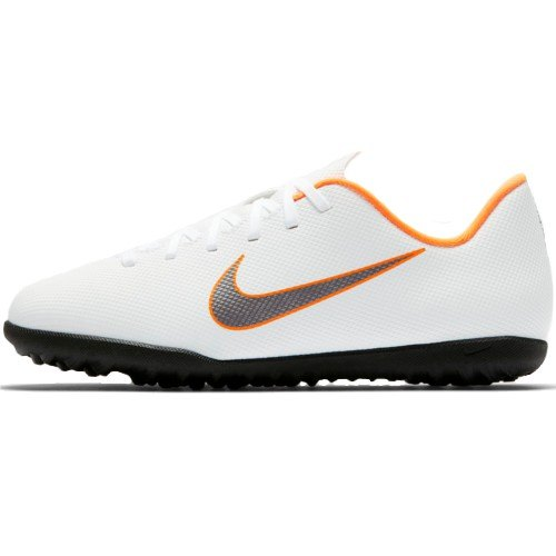 Scarpe Calcetto Junior NIKE JR MERCURIALX VAPOR 12 CLUB TF AH7355 ... 405b2dac04b