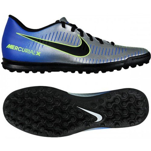 Scarpe Calcetto Junior NIKE JR MERCURIALX VORTEX 3 NEYMAR TF 921497 ... c6b08fce0f3