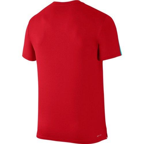 Maglia Graphic 729262 657 Tennis Court Nike Crew trnxvqtH