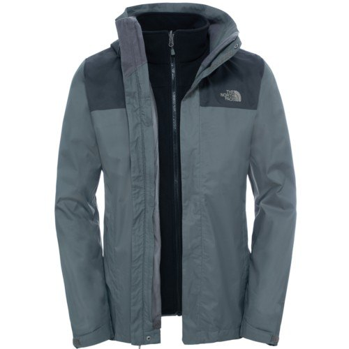 north face giacca con pile