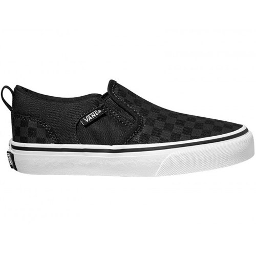 Consiglia Scarpe Sneakers Junior VANS Y ASHER CANVAS CHECKERS SLIP ON VVH001X The Sport Shop On Line