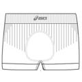 Boxer Intimo ASICS UNDER BOXER UOMO 7566ZN.0001