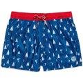 Pantaloncini da bagno NORTH SAILS VOLLEY ALLOVER 673386 C004 costume uomo boxer